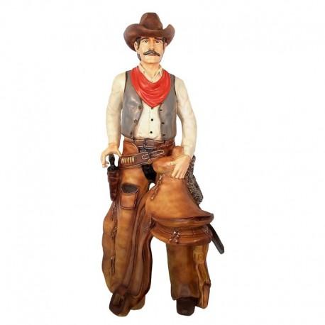 Cowboy 176 cm - figura reklamowa