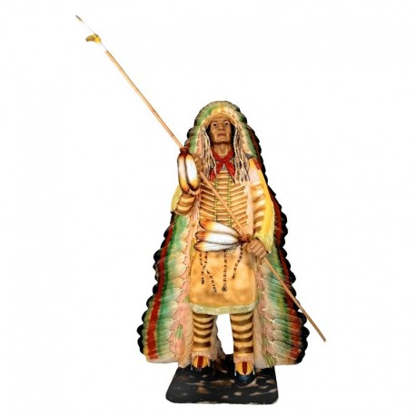 Indianin 190 cm - figura reklamowa