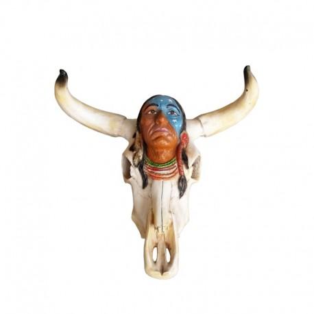 Głowa Indianina 60 cm - figura reklamowa