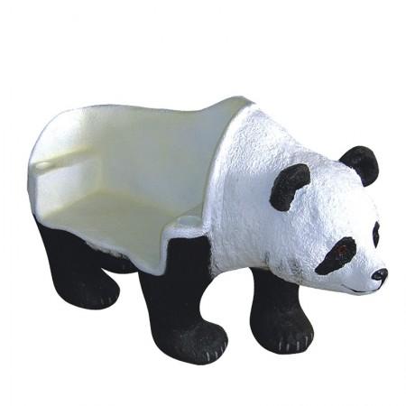 Panda ławka 82 cm - figura reklamowa