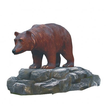Niedźwiedź 116 cm - figura reklamowa