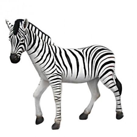 Zebra 167 cm - figura dekoracyjna