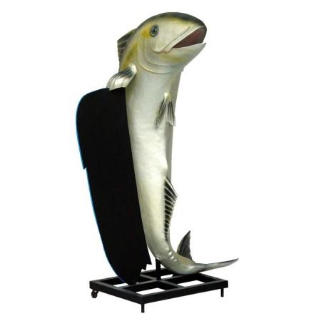 Duża ryba 185 cm - figura dekoracyjna