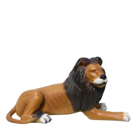 Lew leżący 73 cm - figura dekoracyjna