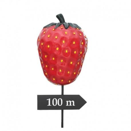 Truskawka drogowskaz 130cm