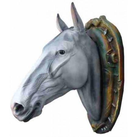 Koń - głowa 85 cm - figura dekoracyjna