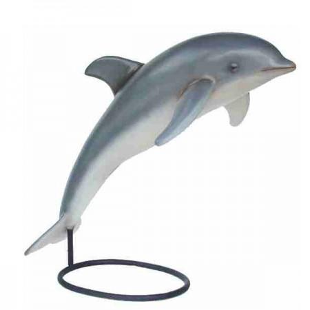 Delfin 146 cm - figura dekoracyjna