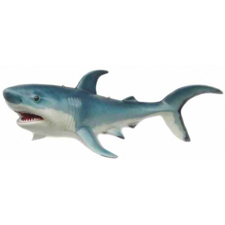 Duży rekin 250 cm - figura dekoracyjna