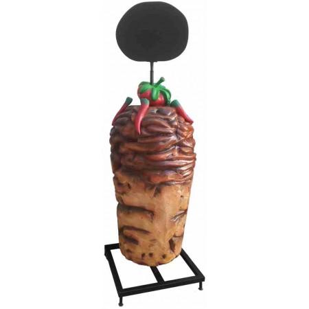 Kebab 187 cm - figura reklamowa