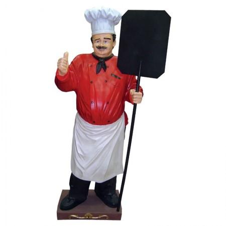 Kucharz 185 cm - figura reklamowa