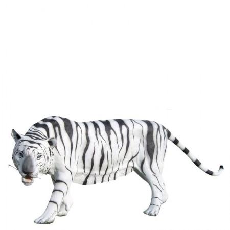 Tygrys biały 90 cm - figura reklamowa