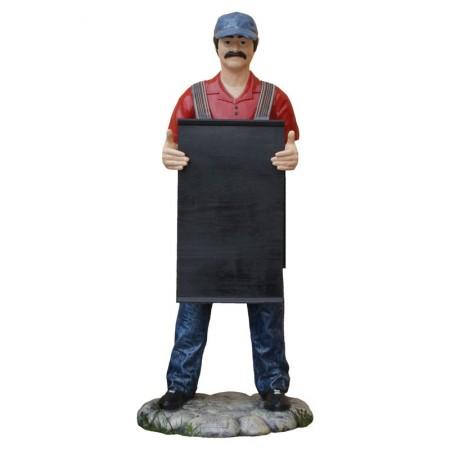 Mechanik - figura reklamowa