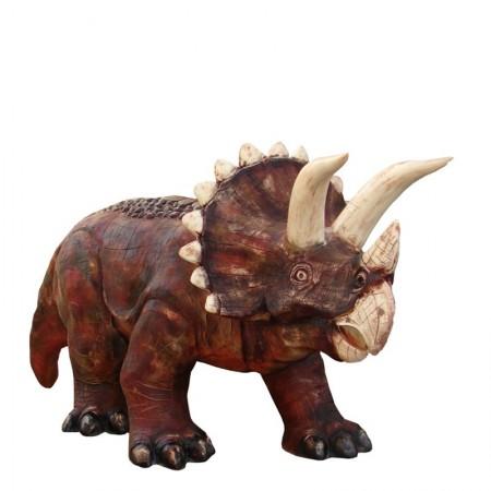 Triceratops, dinozaur  195 cm - figura reklamowa