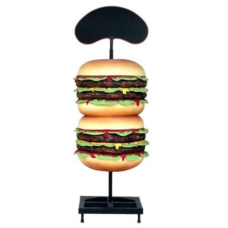 Hamburger 205 cm - figura dekoracyjna
