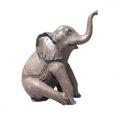 Słoń mały 146 cm - figura dekoracyjna