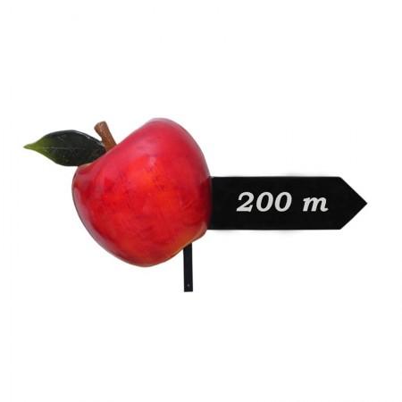Jabłko drogowskaz 52cm