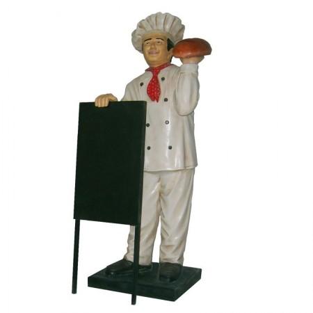 Piekarz 140 cm - figura reklamowa