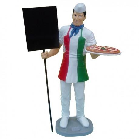 Kucharz, Pizzerman 175 cm - figura reklamowa